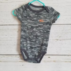 Camo Quicksilver Diaper Shirt TShirt 3m